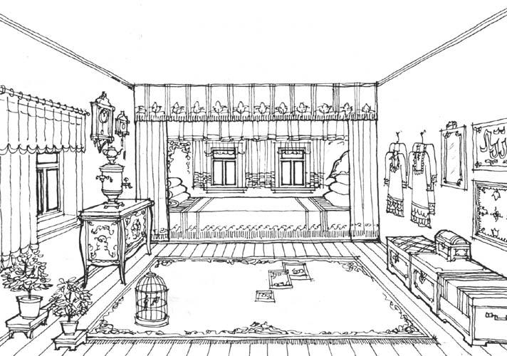 снились дом рисунок изнутри впервые встретились университете